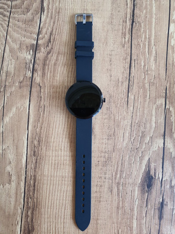 "Smartwatch Lemfo Tela 1,3"" Monitor Cardíaco Prova d'água  - Foto 2"