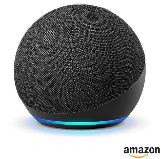 Echo Dot 4 geração - Alexa