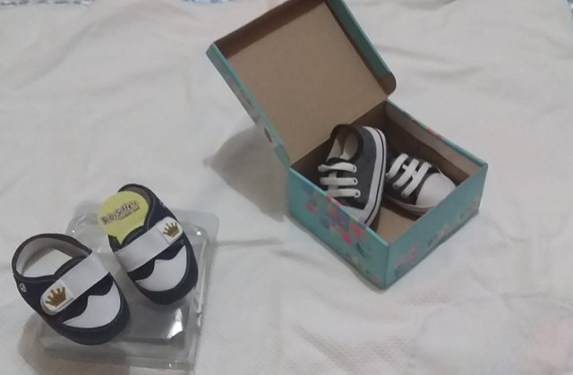 Tenis infantil para bebês masculino tamanho 15