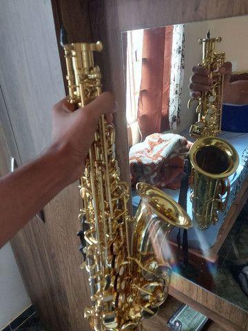 saxofone alto semi novo - Foto 3