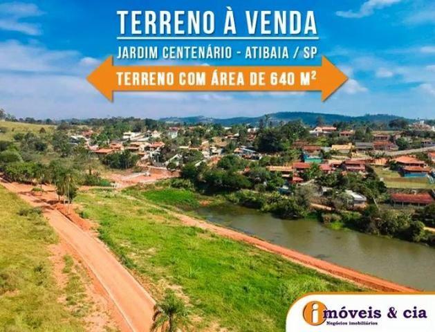 1070m² Terreno Atibaia-SP Doc Ok. Ac. Autos Ac. Financiamento Cód. 002-ATI-015