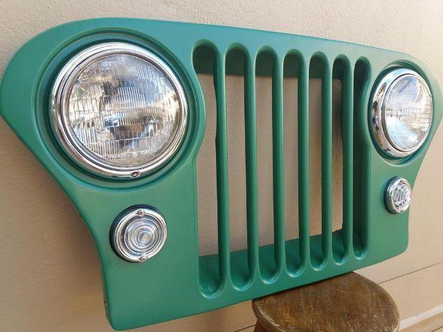 Grade Jeep Antiga