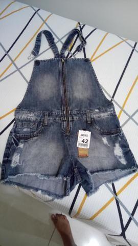Macacão jeans Andirá