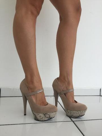 Sapato Mary Jane - Usado - Salto 15