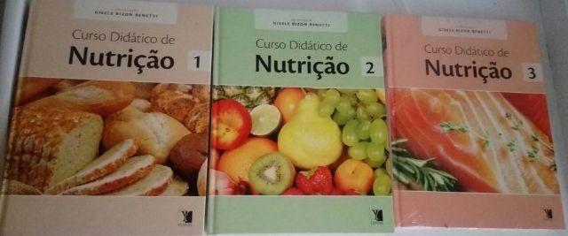 Livros - Curso Didático de Nutrição