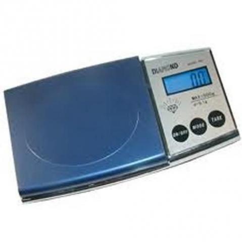 Mini Balança Digital Alta Precisão Portátil Até 500 G