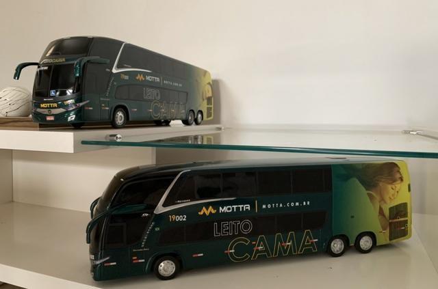 Miniaturas Ônibus MOTTA Leito Cama