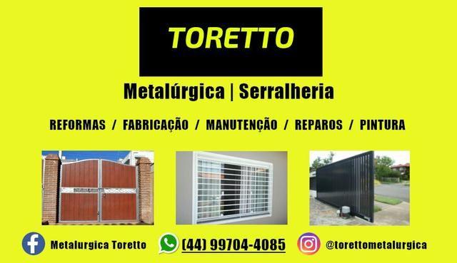 Metalúrgica e Serralheria - Reforma/Pintura/Fabricação