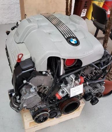 Motor Completo Bmw X5 4.4 V8 Com Nota