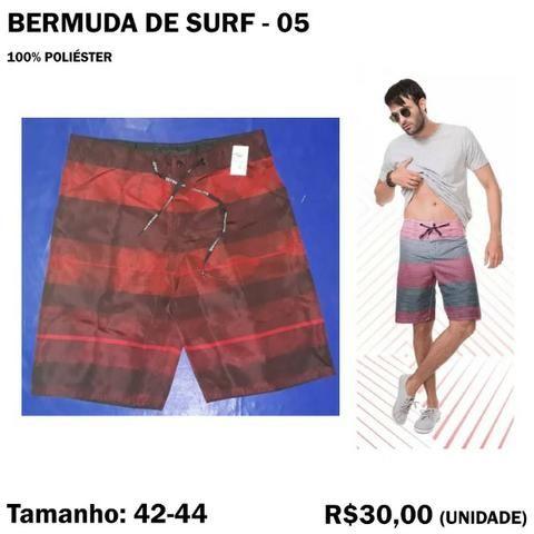 Bermuda Surf Surfista - Tamanho 42 - 44