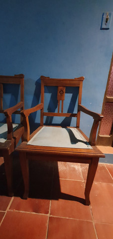 Conjunto de poltronas colonial - Foto 4