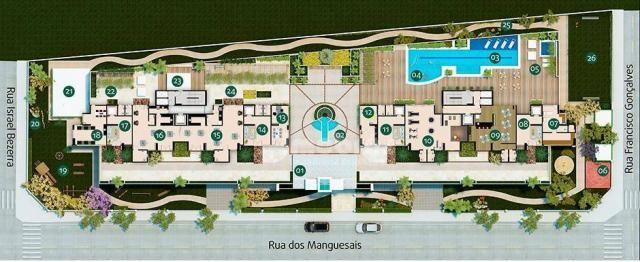 Absoluto Cocó, Apartamento com 3 dormitórios à venda, 158 m² por R$ 1.450.000 - Cocó - For - Foto 18