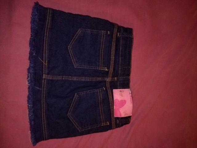 Saia jeans para criança! - Foto 2