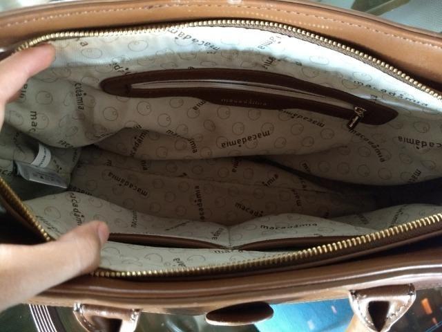 Bolsa grande - Macadamia - Foto 4