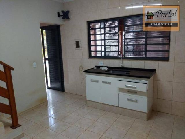 Chácara com 2 dormitórios para alugar, 250 m² por R$ 2.600/mês - Gramado Santa Rita - Camp - Foto 6