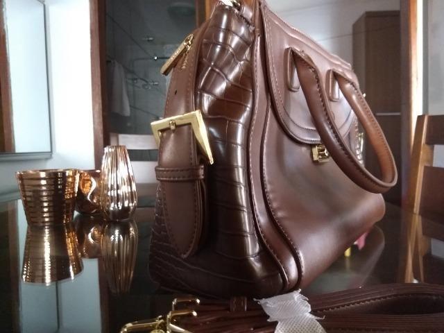 Bolsa grande - Macadamia - Foto 3