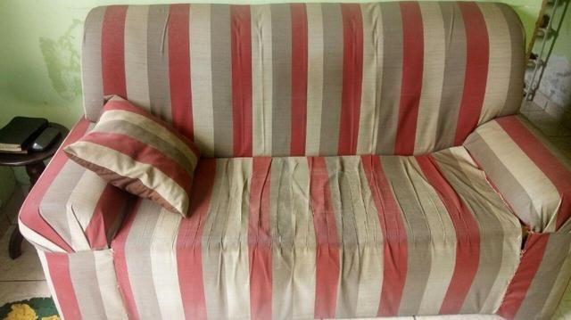 Sofá 2 e 3 Lugares R$ 300,00 - Foto 2