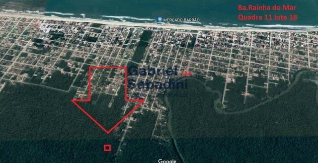 Terreno à venda, 390 m² por R$ 3.800,00 - Rainha do Mar - Itapoá/SC - Foto 4