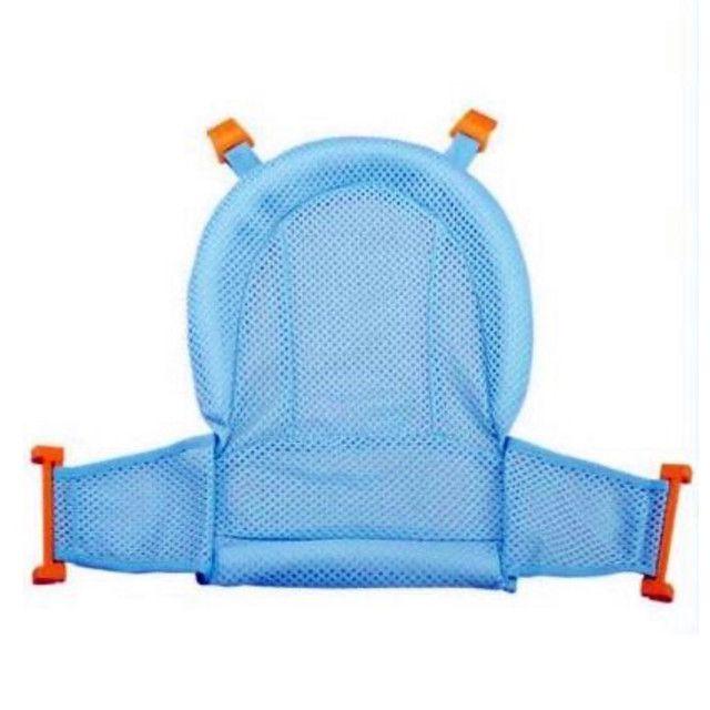 Rede acolchoada para proteção do banho do bebê - Foto 3