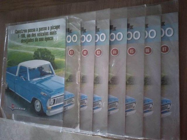 Fascículos Pick Up Ford F 100 Escala 1:8 Salvat