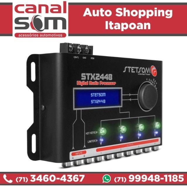 Processador Stetsom Stx2448, Canal Som - Foto 2