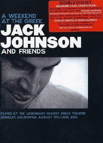 DVD Jack Johnson - A Weekend at the Greek (Original, Duplo e Raro)