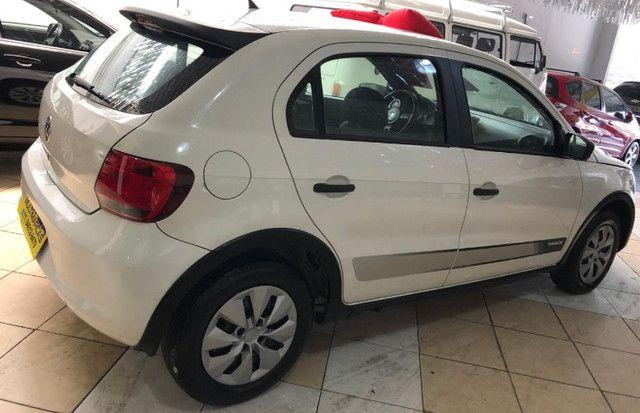 Volkswagen Novo Gol 2014 1.0 Flex Track Completo Branco (Estudo Troca e Financio) - Foto 3