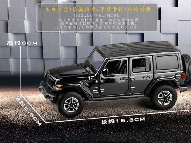 Jeep Sahara escala 1:32 - Foto 3