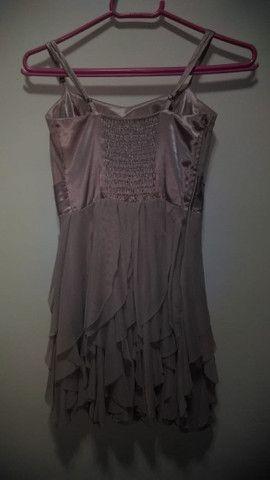 Vestido Curto Rose - Foto 2