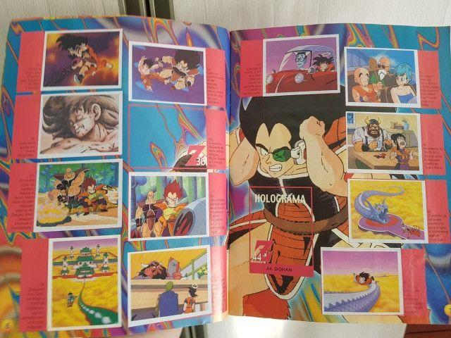 Álbum Dragon Ball Z incompleto - Foto 3