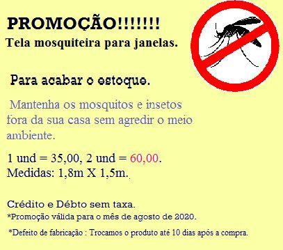 Tela Mosquiteiro - Foto 4
