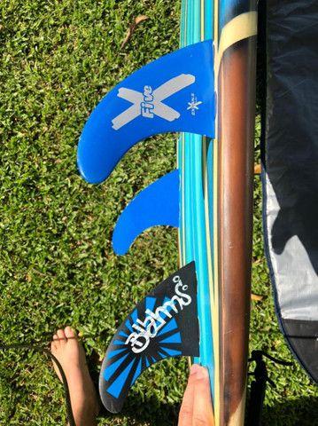 Funboard - prancha 7'0 - super promoção  - Foto 5