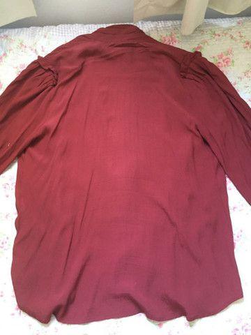 Camisa vermelha  - Foto 4