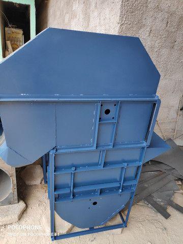 Silo,elevador auto limpante e transportadore de correia  - Foto 2