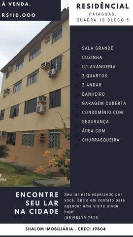 Apartamento No Residencial Paiaguas