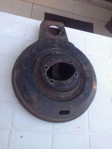 Tampa compartimento filtro ar original opala caravan duplo - Foto 3