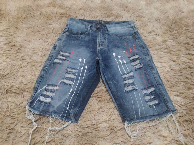 Bermudas Jeans promoção  - Foto 2