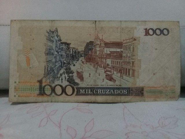 Nota de 1000 Cruzeiros Cruzado Novo