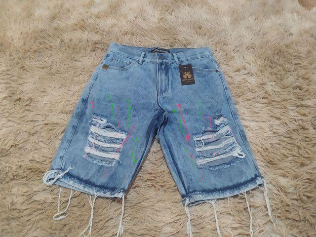 Bermudas Jeans promoção  - Foto 6