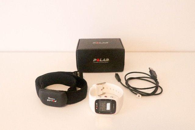 Relógio Polar M400 com GPS e Monitor Cardíaco (usado) - Foto 4