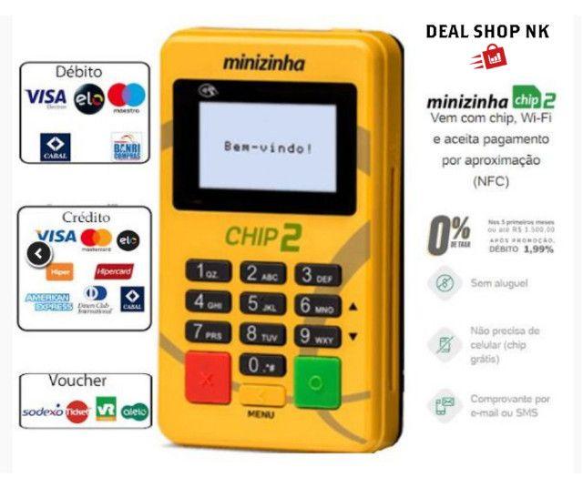 Máquina de Cartão - Minizinha Chip 2 - Foto 3