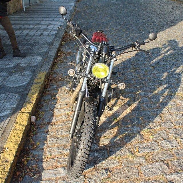 Moto Coffe Racer Custom - CB 400 82 Estilizada Tracker 1982 - Foto 6