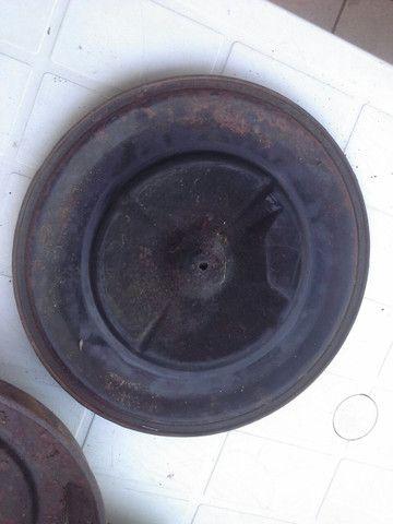 Tampa compartimento filtro ar original opala caravan duplo - Foto 6
