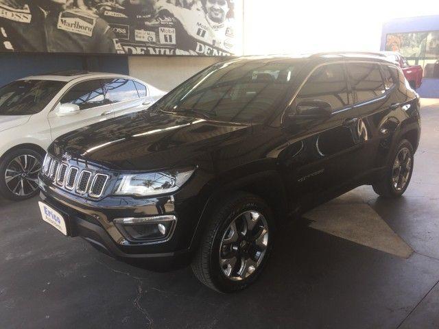 Jeep Compass longitude diesel 2019/19 apenas  17 mil kms  garantia até  06/2022