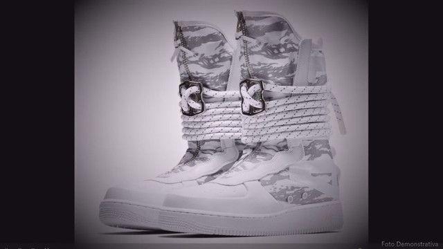 """Nike Men's Sf Af1 Hi PRM""""Winter Camo"""" (BR_40)"""