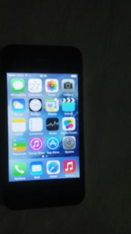 Vendo iphone 4 semi novo