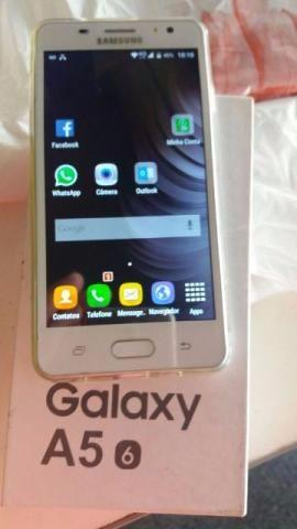Galaxy A5 Dual Chip Android 6.0 Tela 5.2