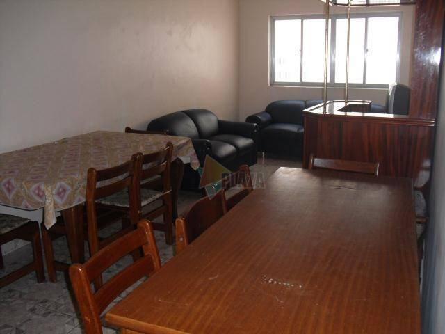 Apartamento para alugar, 90 m² por R$ 1.700,00/mês - Canto do Forte - Praia Grande/SP - Foto 2