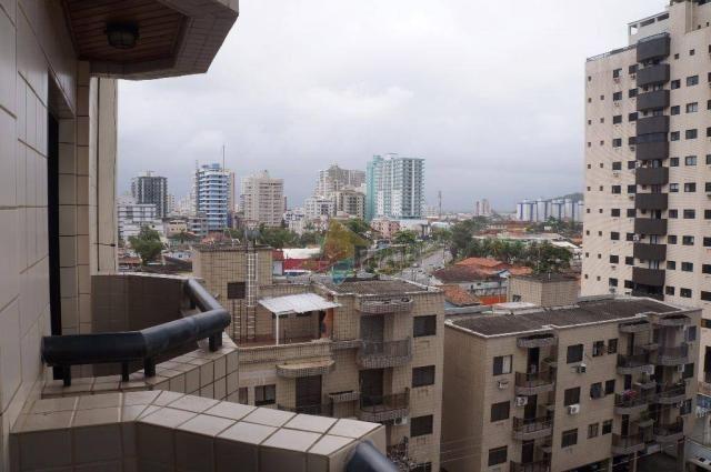 Apartamento com 2 dormitórios à venda, 70 m² por R$ 250.000,00 - Canto do Forte - Praia Gr - Foto 6
