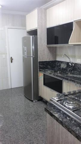 Apartamento para alugar, 141 m² por r$ 3.500,00/mês - canto do forte - praia grande/sp - Foto 17